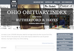 R. B. Hayes Ohio Obituary Index