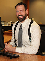 Eric Lucius, manager of Lodi Library